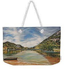 Echo Lake In Franconia Notch New Hampshire Weekender Tote Bag