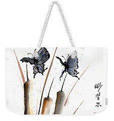 Echo Of Silence Weekender Tote Bag by Bill Searle