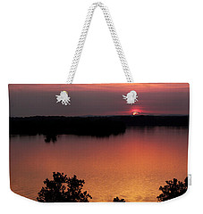 Eclipse Of The Sunset Weekender Tote Bag by Jason Politte