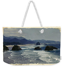 Ecola Sea Stacks Weekender Tote Bag