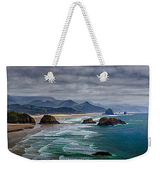 Ecola Viewpoint Weekender Tote Bag by Rick Berk