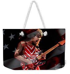 Eddie Van Halen Weekender Tote Bag by Marvin Blaine