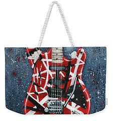 Eddie's Frankenstrat Weekender Tote Bag by Arturo Vilmenay