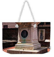 Edgar Allan Poe Tomb Weekender Tote Bag