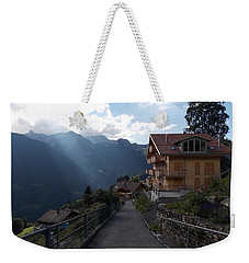 Edge Of Wengen Weekender Tote Bag