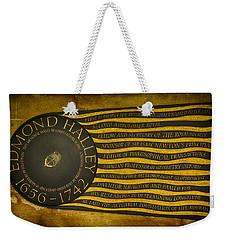 Edmond Halley Memorial Weekender Tote Bag by Stephen Stookey