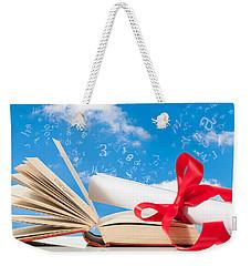 Education Weekender Tote Bag by Amanda Elwell