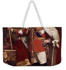 Edward Vii In Coronation Robes Weekender Tote Bag