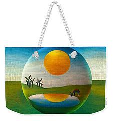 Eeyorb  Weekender Tote Bag by Robin Moline
