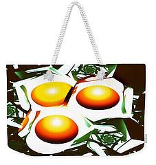 Eggs For Breakfast Weekender Tote Bag