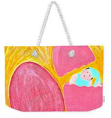 Eggs Weekender Tote Bag by Lorna Maza