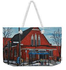 Eglise Baptiste Evangelique De La Grace De Verdun  Weekender Tote Bag