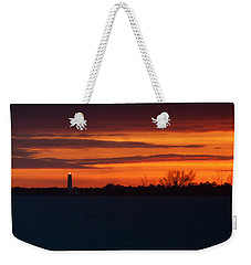 Egmont Key Lighthouse Sunset Weekender Tote Bag