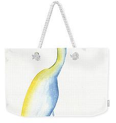 Egret's Glance Weekender Tote Bag