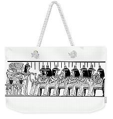 Egyptian Ladies 1886 Drawing Weekender Tote Bag