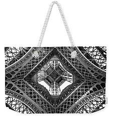 Eiffel Abstract Weekender Tote Bag