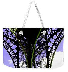 Eiffel Lace Weekender Tote Bag