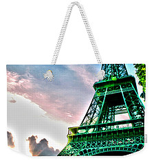 Eiffel Tower 8 Weekender Tote Bag