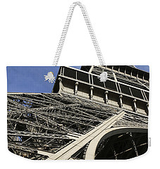 Weekender Tote Bag featuring the photograph Eiffel Tower by Belinda Greb
