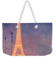 Eiffel Tower Weekender Tote Bag by Blue Sky