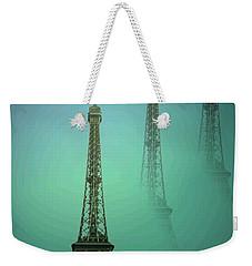 Eiffel Tower Weekender Tote Bag by Joyce Dickens