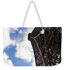 Weekender Tote Bag featuring the photograph Eiffel Tower by Tiffany Erdman
