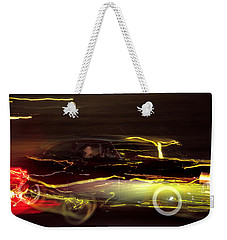Eighty Eight Miles Per Hour Weekender Tote Bag by Jason Politte