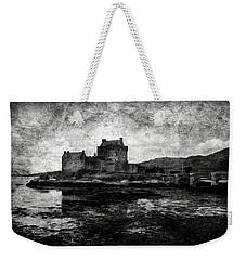 Eilean Donan Castle In Scotland Bw Weekender Tote Bag