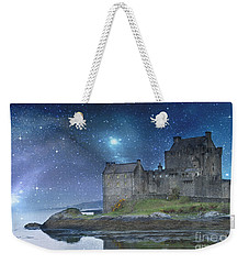 Eilean Donan Castle Weekender Tote Bag by Juli Scalzi