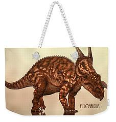 Einiosaurus Weekender Tote Bag by Bob Orsillo