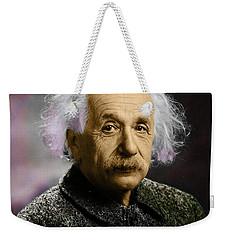 Einstein Explanation Weekender Tote Bag