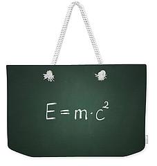 Einsteins Formula Weekender Tote Bag