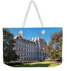 Eisenhower Executive Office Building In Washington Dc Weekender Tote Bag