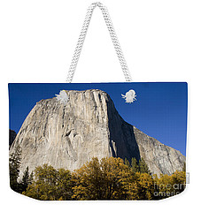 Weekender Tote Bag featuring the photograph El Capitan In Yosemite National Park by David Millenheft