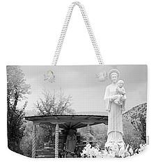 El Santuario De Chimayo Sculpture Garden 2 Weekender Tote Bag