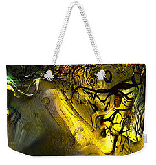 Weekender Tote Bag featuring the digital art Elaboration Of Day Into Dream by Richard Thomas