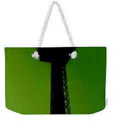 Weekender Tote Bag featuring the photograph Elastic Concrete Part Four by Sir Josef - Social Critic - ART