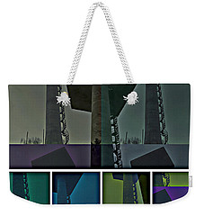 Weekender Tote Bag featuring the photograph Elastic Concrete Part One by Sir Josef - Social Critic - ART