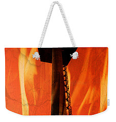 Weekender Tote Bag featuring the photograph Elastic Concrete Part Two by Sir Josef - Social Critic - ART