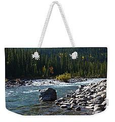 Elbow River Rock Art Weekender Tote Bag