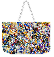Weekender Tote Bag featuring the painting Eldorado by Dominic Piperata