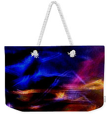 Weekender Tote Bag featuring the photograph Electric Chaos by Mike Breau