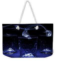 Electric Cocktails - Light Painting Weekender Tote Bag by Steven Milner