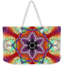 Electric Enlightenment Weekender Tote Bag