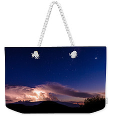 Electric Heavens 1 Weekender Tote Bag
