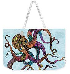 Electric Octopus Weekender Tote Bag