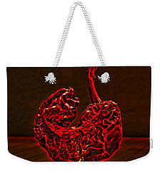 Electric Red Pepper Weekender Tote Bag