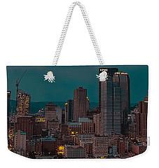 Electric Steel City Weekender Tote Bag