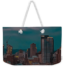 Electric Steel City Weekender Tote Bag