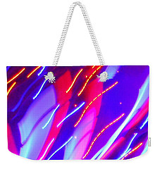 Electric Storm Weekender Tote Bag
